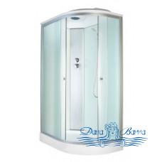 Душевая кабина Aquapulse 3126D L fabric white 120х80