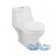 Унитаз-моноблок Jaquar Continental CNS-WHT-851 с крышкой-сиденьем Soft Close