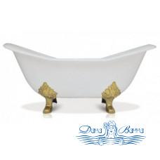 Чугунная ванна Magliezza Julietta 183x78 ножки золото