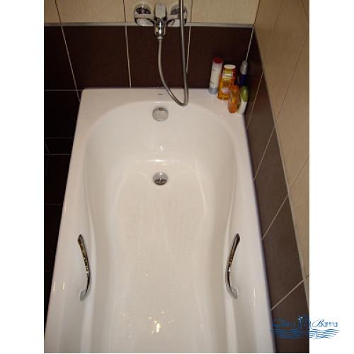 Чугунная ванна Roca Haiti 233250001 150х80 с ручками