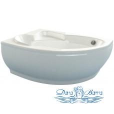 Ванна из литьевого мрамора ESSE Flores 149x103 L/R
