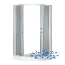 Душевой уголок Erlit ER0510-C4 100x100 стекло тонированное