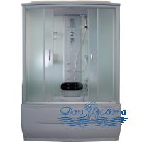 Душевая кабина Aquapulse 7808 fabric white 170х85