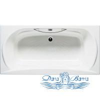 Чугунная ванна Roca Akira 23257000R 170х85 с ручками