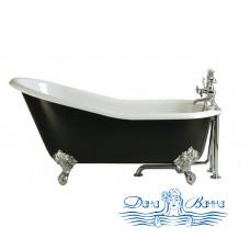 Чугунная ванна Magliezza Gracia Nero 170x76