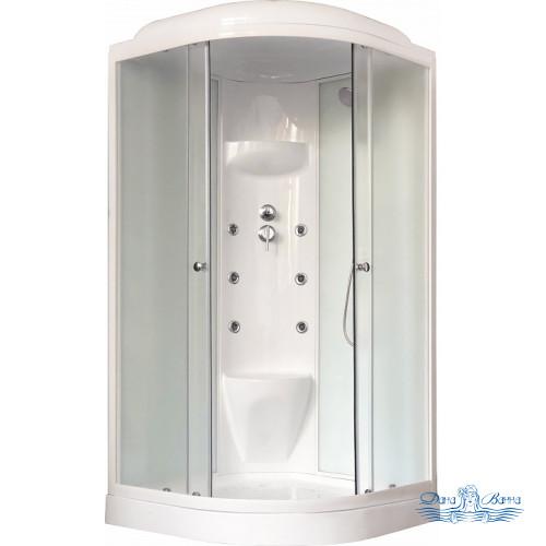 Душевая кабина Royal Bath RB 90HK7-WC 90х90 (белое/матовое)