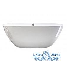 Ванна из литьевого мрамора Castone Эдем 170x80 с отверстием перелива (комплект)
