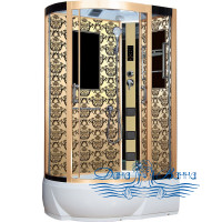 Душевая кабина Niagara Lux 7712GR золото 120х80
