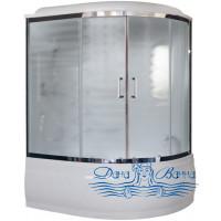 Душевой бокс Royal Bath RB 150ALP- C-CH L 150х100 (матовое)