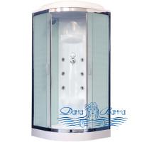Душевая кабина Royal Bath RB 100HK7-WC-CH 100х100 (белое/матовое)