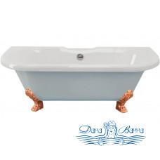 Ванна из литьевого мрамора ESSE Capri 170x75 ножки бронза