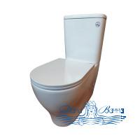 Унитаз-компакт Bolu Cartagena BL-34A2154 с сиденьем Soft Close