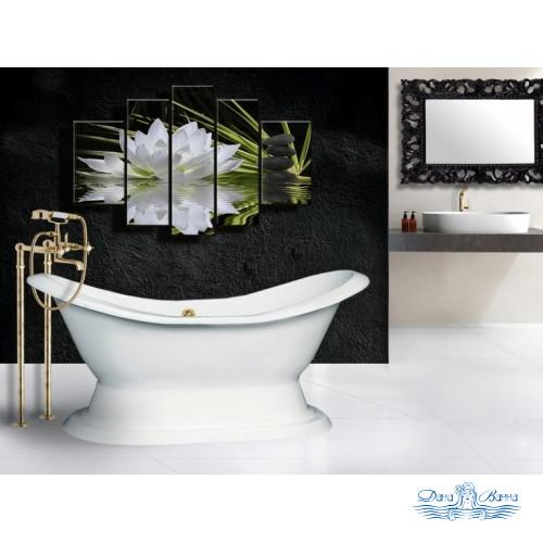 Чугунная ванна Elegansa Diana 180х80