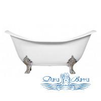 Чугунная ванна Magliezza Julietta 183x78 ножки хром