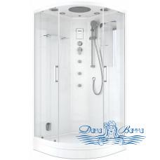 Душевая кабина Teuer Crystal D10-75 100x100 с сенсорной панелью и баней