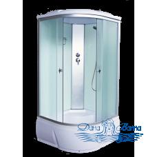 Душевая кабина Aquapulse 3102D fabric white 90х90