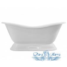 Ванна из литьевого мрамора ЭСТЕТ БОСТОН (на подиуме) 180х74
