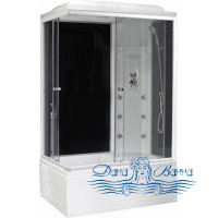 Душевая кабина Royal Bath RB 8100BP3-BT R 100х80 (черное/прозрачное)