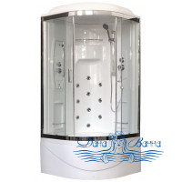 Душевая кабина Royal Bath RB 100NRW-T-CH 100х100 (прозрачное)