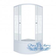 Душевой уголок Triton Стандарт Б 90х90 стекло квадраты