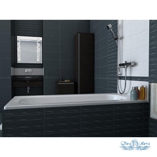 Чугунная ванна Roca Continental 212914001 140х70