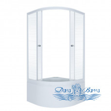 Душевой уголок Triton Стандарт Б 90х90 стекло полосы