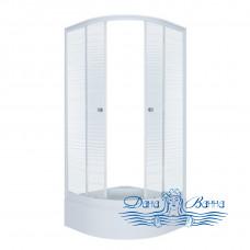Душевой уголок Triton Стандарт В 90х90 стекло полосы