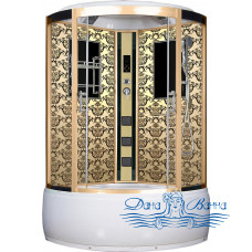 Душевая кабина Niagara Lux 7744G золото 120х120