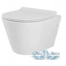 Унитаз подвесной Creo Ceramique Creo CR1100R с сиденьем CR1001T