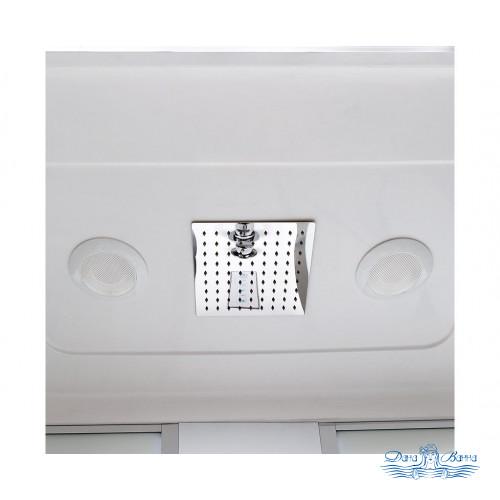 Душевой бокс Deto EM 4517 170x85 LED с подсветкой и гидромассажем