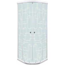 Душевое ограждение Triton стекло квадраты 90х90