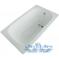 Чугунная ванна Zodiak 120х70x39