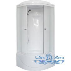 Душевая кабина Royal Bath RB 90BK1-M 90х90 (матовое)