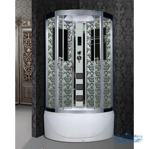 Душевая кабина Niagara Lux 7710W хром, металлик 100х100