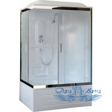Душевая кабина Royal Bath RB 8100BP1-M-CH R 100х80 (матовое)