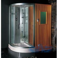 Гидромассажная сауна EAGO DS205F8 R 180х120