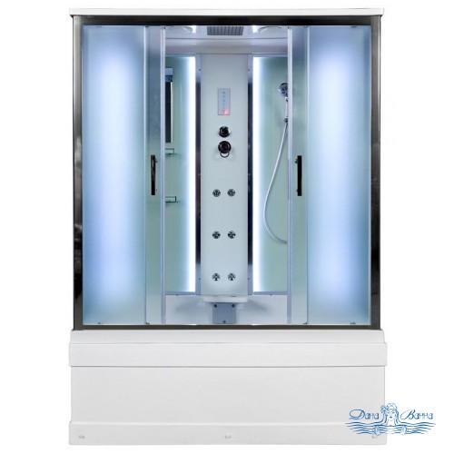 Душевой бокс Deto EM 4515 150x85 LED с подсветкой и гидромассажем