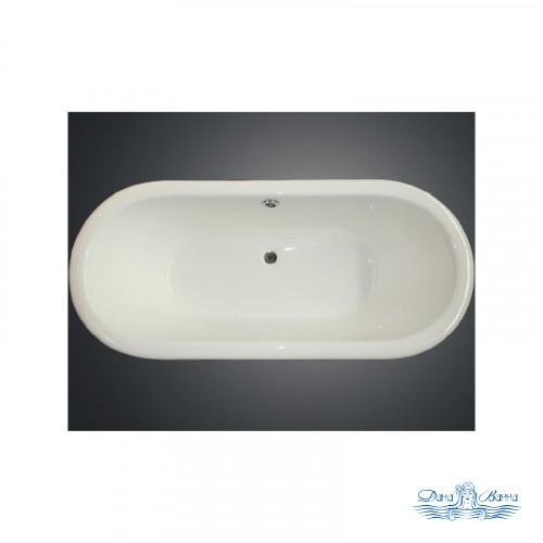 Чугунная ванна Magliezza Patricia 168x76 ножки хром