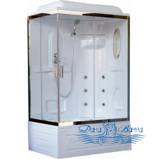 Душевая кабина Royal Bath RB 8120BP2-T-CH R 120х80 (прозрачное)
