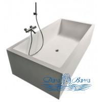 Ванна из литьевого мрамора Antonio Lupi Biblio 180x80