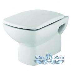Унитаз подвесной Creo Ceramique Tours TO1100N сиденьем TO1001N