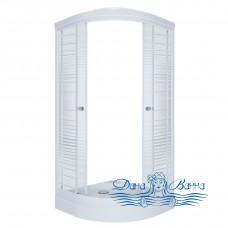 Душевой уголок Triton Стандарт А 90х90 стекло полосы