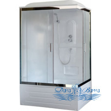 Душевая кабина Royal Bath RB 8120BP1-M-CH L 120х80 (матовое)