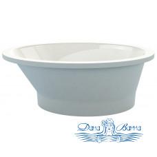 Ванна из литьевого мрамора ESSE Milos 178x104