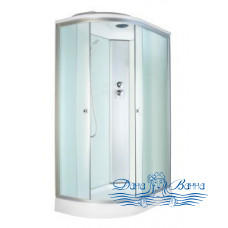Душевая кабина Aquapulse 3126D R fabric white 120х80