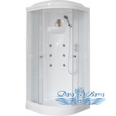 Душевая кабина Royal Bath RB 90HK2-М 90х90 (матовое)