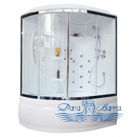 Душевой бокс Royal Bath RB 150ALP-T-CH R 150х100 (прозрачное)