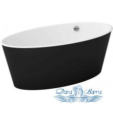 Ванна из литьевого мрамора Цвет и Стиль МариVanna 160x73 черная