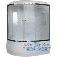 Душевой бокс Royal Bath RB 170ALP-C-CH R 170х100 (матовое)