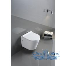 Унитаз подвесной CeramaLux B2330 с сиденьем Soft Close